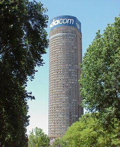 Ponte City Apartments, Hillbrow, Johannesburg