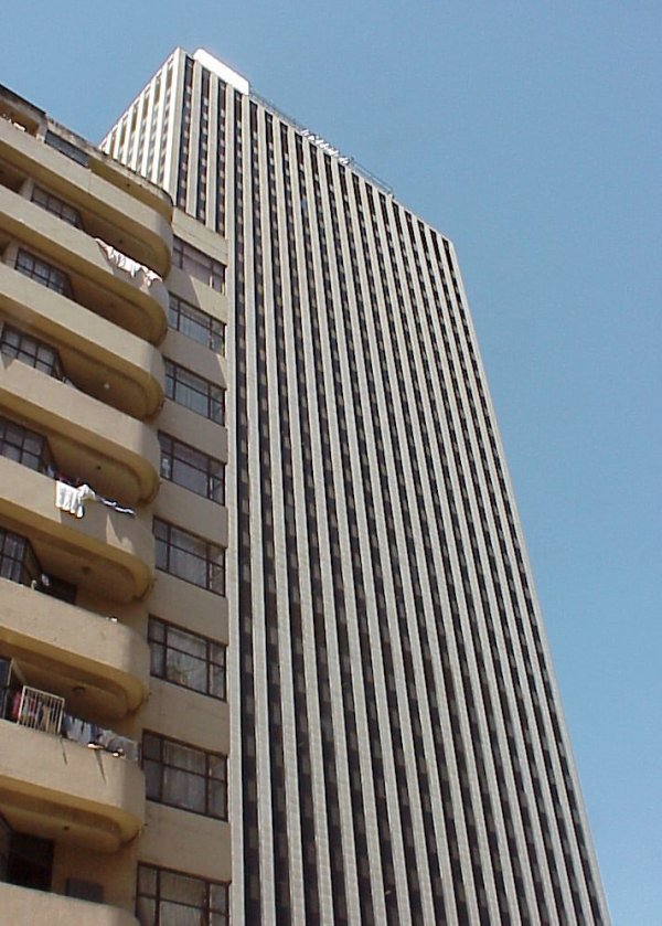 Marble Towers Was Sanlam Centre Johannesburg